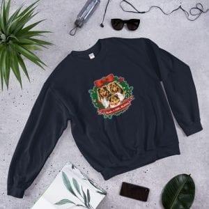 Santa's Little Shelties Unisex Sweatshirt