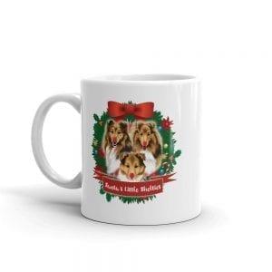Santa's Little Shelties Mug